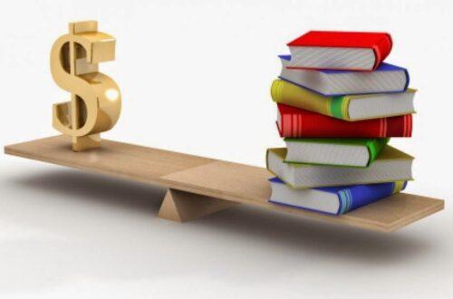 Article : Établissements scolaires et quête d'argent facile