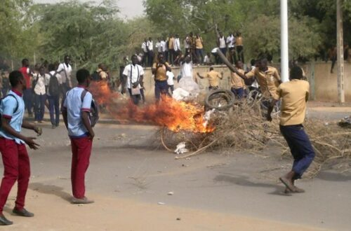 Article : Tchad : Bourse et manifestations