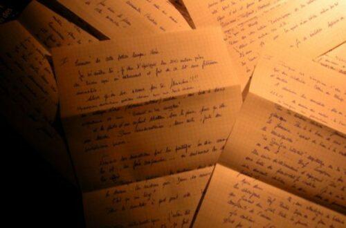 Article : L'effet lettre ouverte