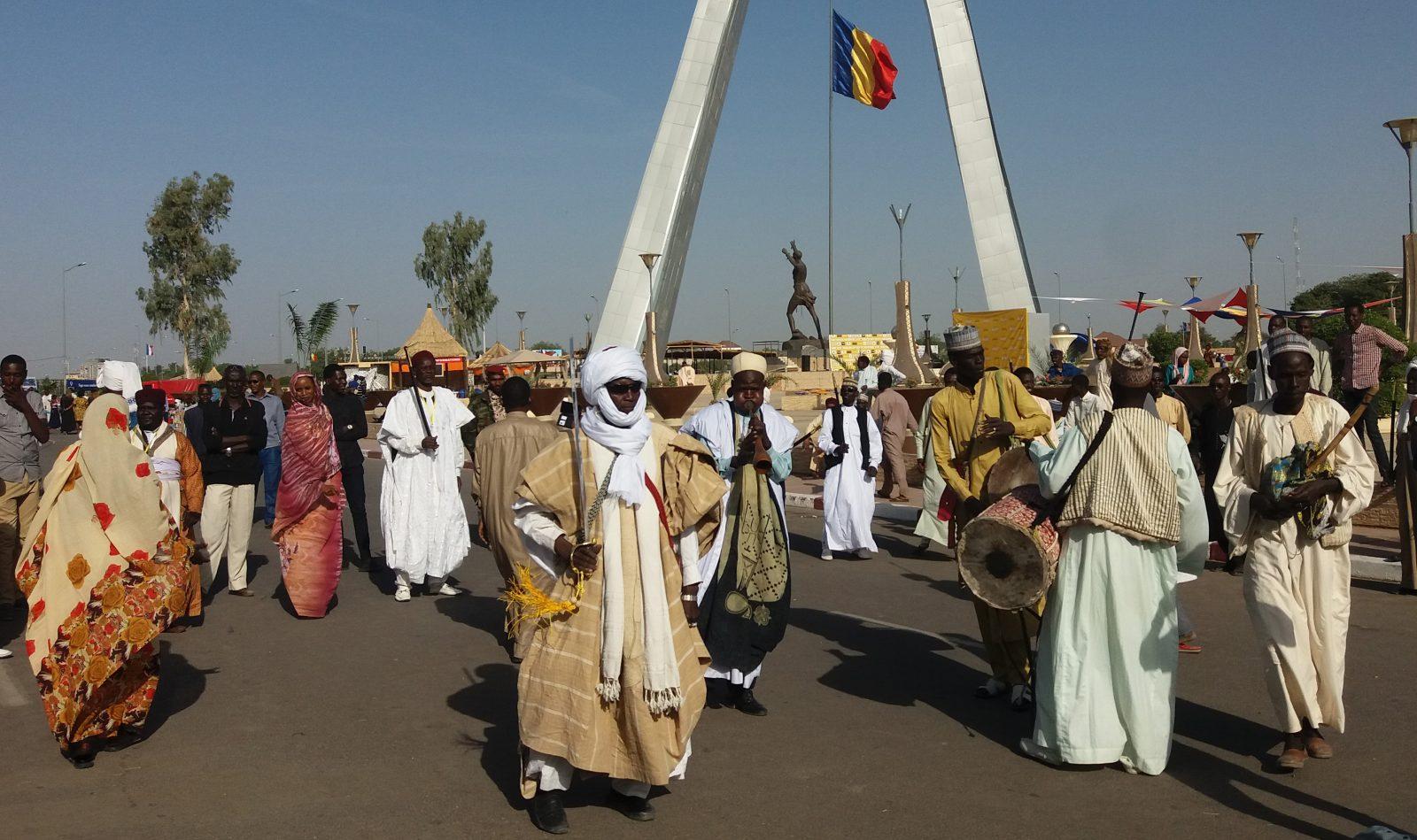 Danseurs Kanem Tchad