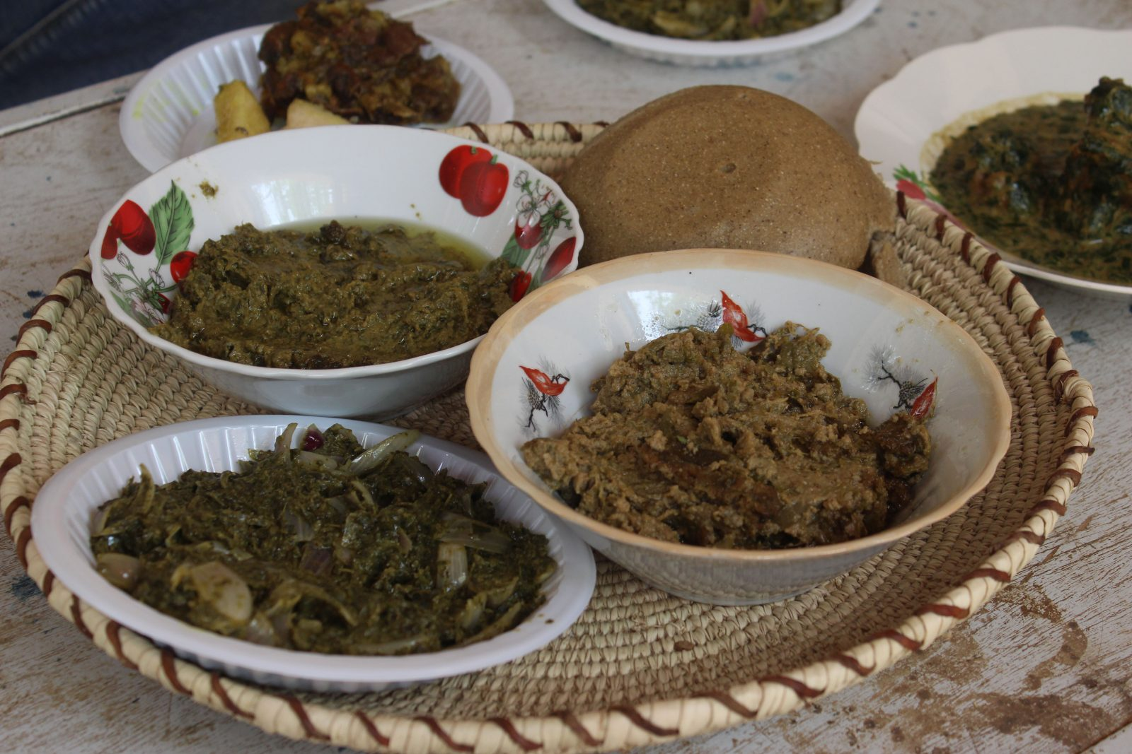Cuisine de Mongo.