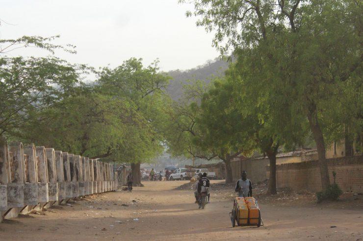 Une rue de la ville de Mongo. Photo : Annadjib Ramadane.