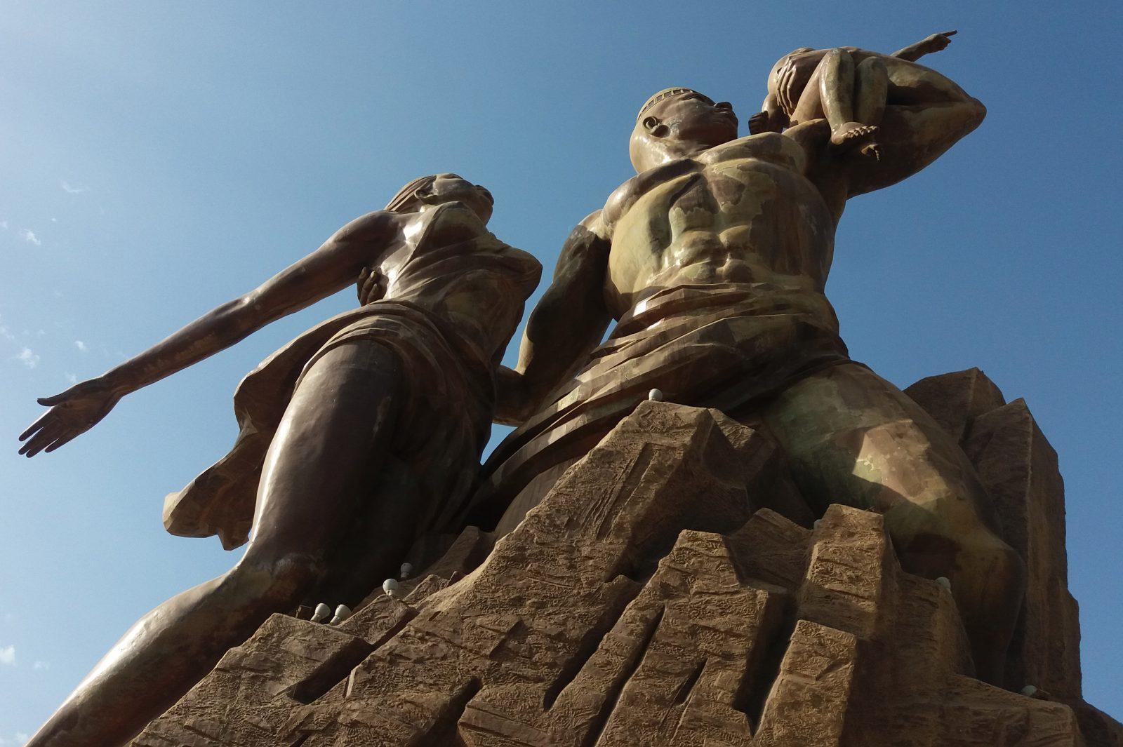 Monument de la renaissance Africaine. Photo : Annadjib Ramadane.