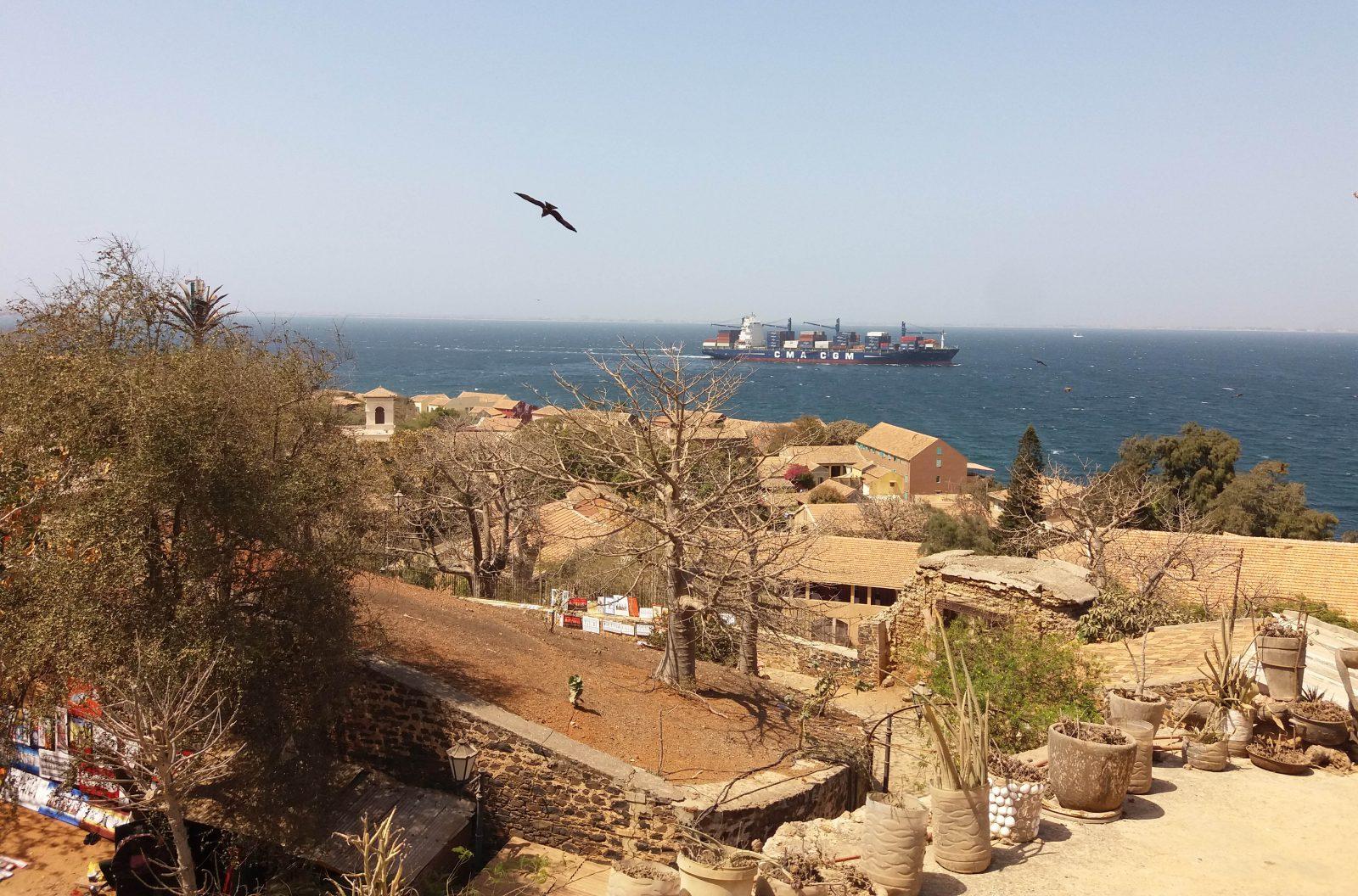 Quelque part sur l'île de Gorée. Photo : Annadjib Ramadane.