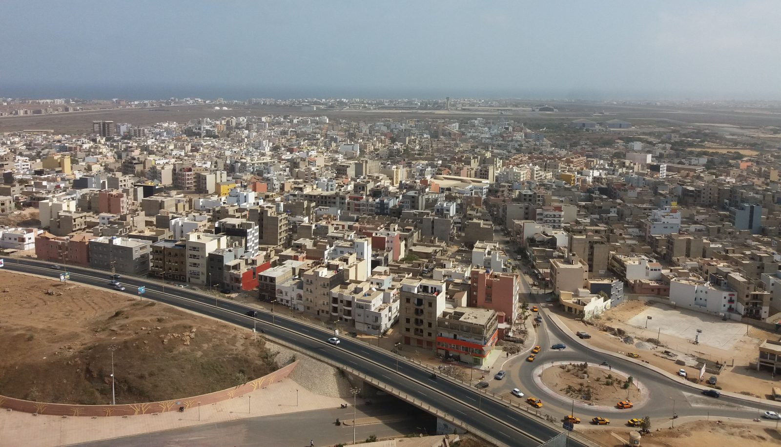 Vue de la ville de Dakar. Photo : Annadjib Ramadane.