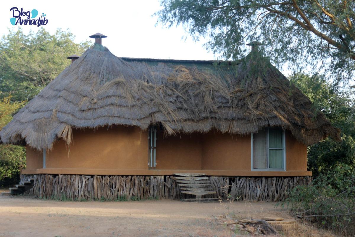 Hotel Tinga au parc national de Zakouma.