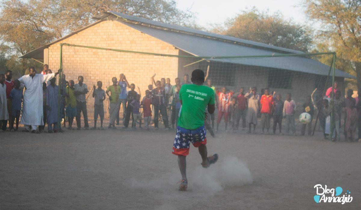 Football à Zakouma
