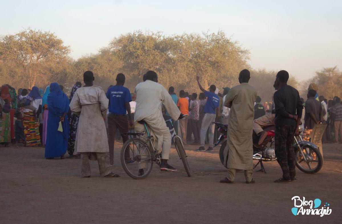 Spectateurs à Zakouma.