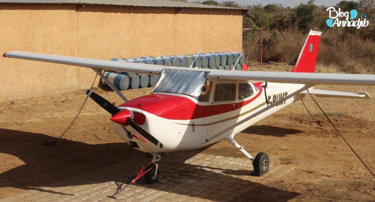 L'un des aéronefs du parc national de Zakouma.