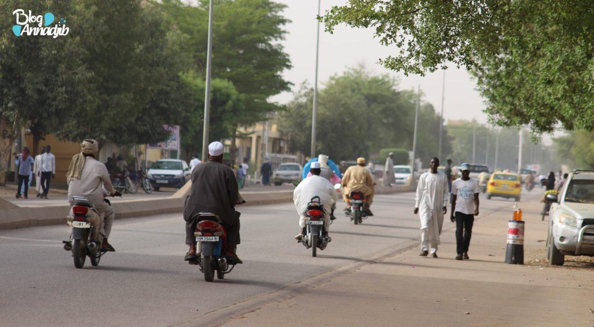 Rue, Tchad, N'Djaména, Ramadan